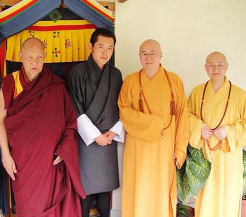 2009Jun海濤法師與傳喜法師雷龍王國不丹紀行