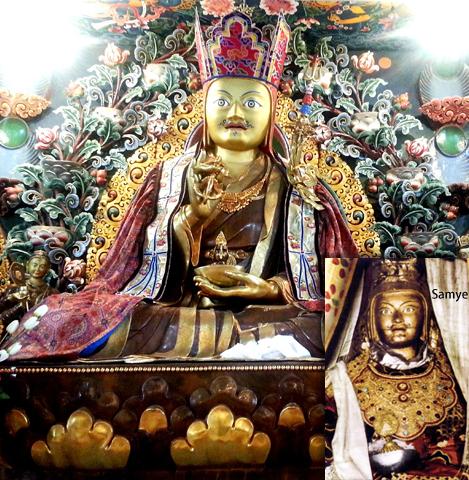 The Main Shrine features the famous Guru Ngadrama Statue (Looks Like Me)